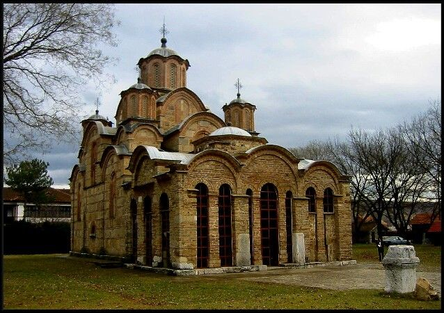 Gracanica monastery - Church of the Dormition of the Holy Virgin,around 1312// 5