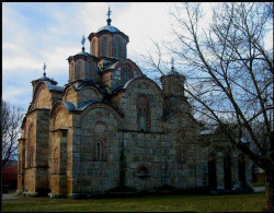 Stefan Nemanja  Gracanica monastery - Church of the Dormition of the Holy Virgin,around 1312 // 6  2007-02-24 01:45:39