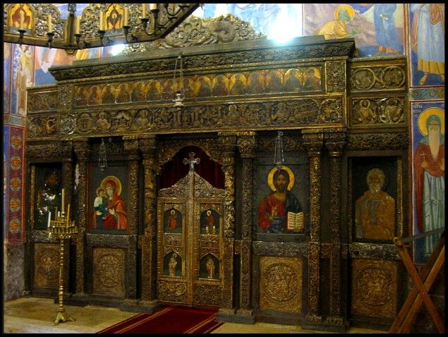 Iconostasis of the Royal Chapel of St Andrew the First Called,Belgrade