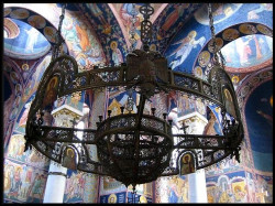 Stefan Nemanja  Chandelier - St George church,Oplenac  2007-05-18 22:30:13