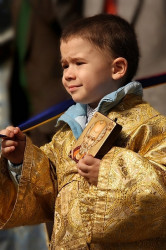 Oliver  Junior deacon on the sunday of orthodoxy  2008-03-20 00:12:16