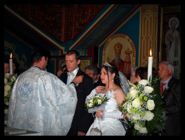 In Church, at my wedding- The 26th of April