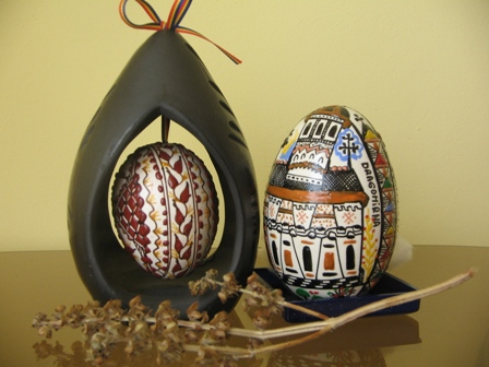 The tradition of egg decoration in Easter time