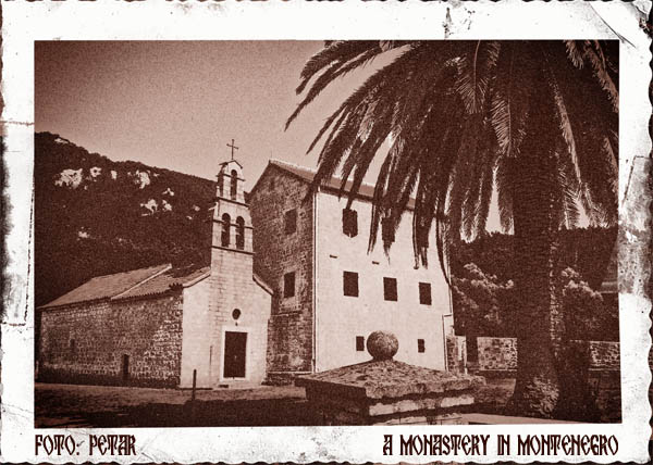 a monastery in montenegro