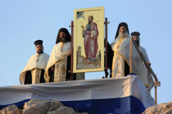 nikosart  Vespers on Areopagus on the Feast of Saints Peter and Paul.  2010-07-02 09:33:29