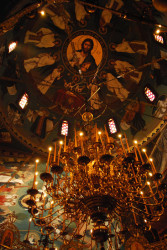 ioakeim  Holy sleeplessness in feast of Holy Cross 2010 – Monastery of Saint Augoustine and Saint Seraphim  2010-09-30 20:17:03