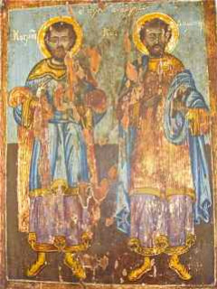 angelos  Saint Kosmas and Saint Damainos  2010-11-01 22:50:24
