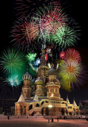 A.F.Kozlovskiy  New Year's Eve fireworks display in Red Square  2011-01-31 14:22:53