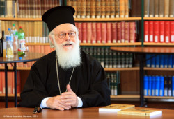 nikosart  His Beatitude Anastasios, Archbishop of Tirana, Durres and All Albania   2011-02-19 12:42:08