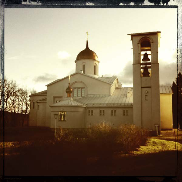 The Church of the Transfiguration, New Valamo Monastery