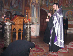 jarek  The sunday of Forgiveness - Zwierki monastery  2013-04-10 21:42:40