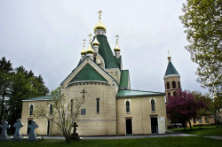 MikaV   Russian  Orthodox  monastery Holy Trinity in Jordanville,USA