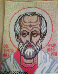 lashaoc  Embroidered icon of the Nikolaos   2013-08-30 12:46:28