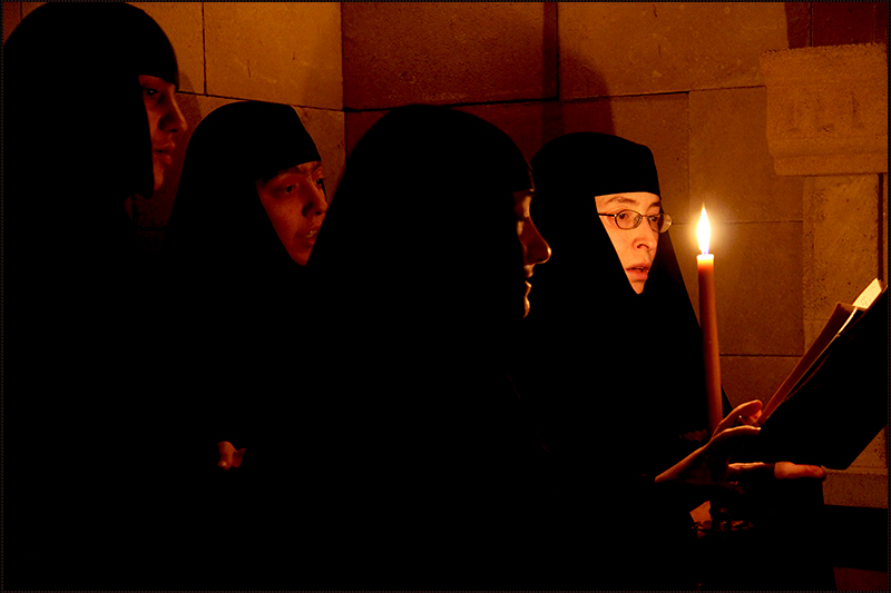 Divine Liturgy in Catacombs