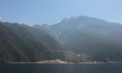 worek  Monastery buildings on Mount Athos.  2014-07-15 22:59:42
