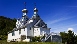 mobilwizard  Holy Resurrection Orthodox Church, Berlin, NH  2014-08-19 21:22:47