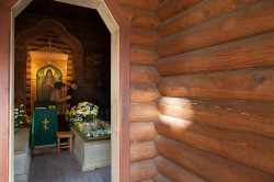 AlexandraP   A chapel where the holy relics of st. Serafim Vyritskiy rest