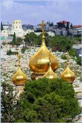 iltours  Domes of St. Mary Magdalene Church, Jerusalem  2015-02-12 19:10:42