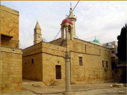 iltours  Monastery of St. George in El Khader village near Bethlehem  2015-02-12 19:31:38