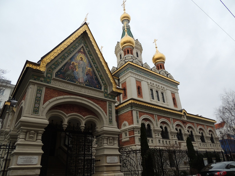 Russian Church in Vienna, Austria