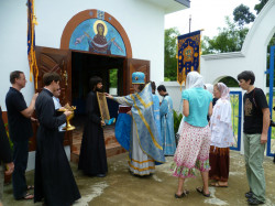oHellKungo   A Celebration of the Dormition of the Mother of God.