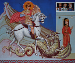 Aimilianos  Holy Glorious Great-martyr, Victory-bearer and Wonderworker George  2015-05-06 21:11:26