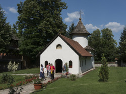 MikaV  Church St.John the Baptist,monastery Jovanja,Serbia  2015-07-26 02:28:44