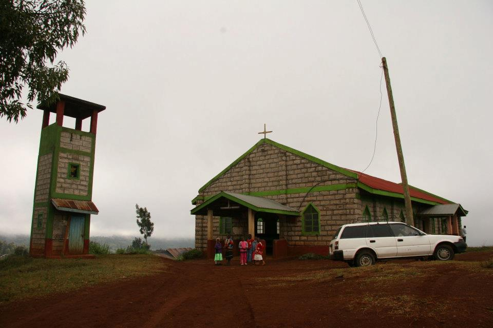 St. Antony Orthodox church in Ichamara, Kenya