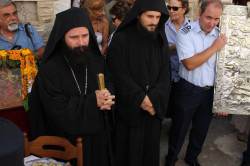 manouil  Today at VRODIANI MONASTERY AT SAMOS.Abot THEOPHANIS and pater PHOTIOS.  2015-09-08 19:04:30