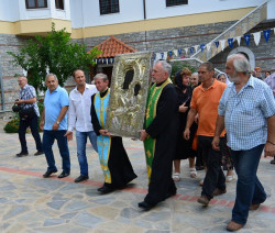 Xenia  Procession with the Holy Icon of the Virgin Mary (Panaghia Xenia)  - Kato Xenia Convent  2015-11-21 20:20:50