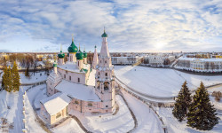 Solega  Church of Elijah the Prophet, Sovetskaya Square  2016-01-14 17:56:13