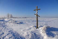 jarek1   A lonely cross close to Zbucz