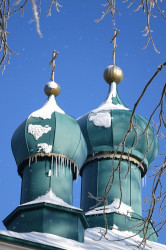jarek  The domes od Ascension Orthodox church in Nowoberezowo  2017-03-27 20:37:35