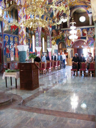 Подунавац    Ascension of our Lord in Serbian Orthodox Church in Osijek