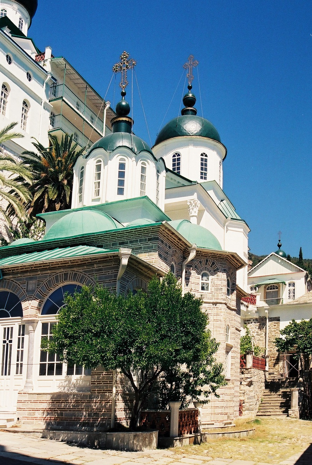 St. Panteleimon monastery on Month Athos, 2000