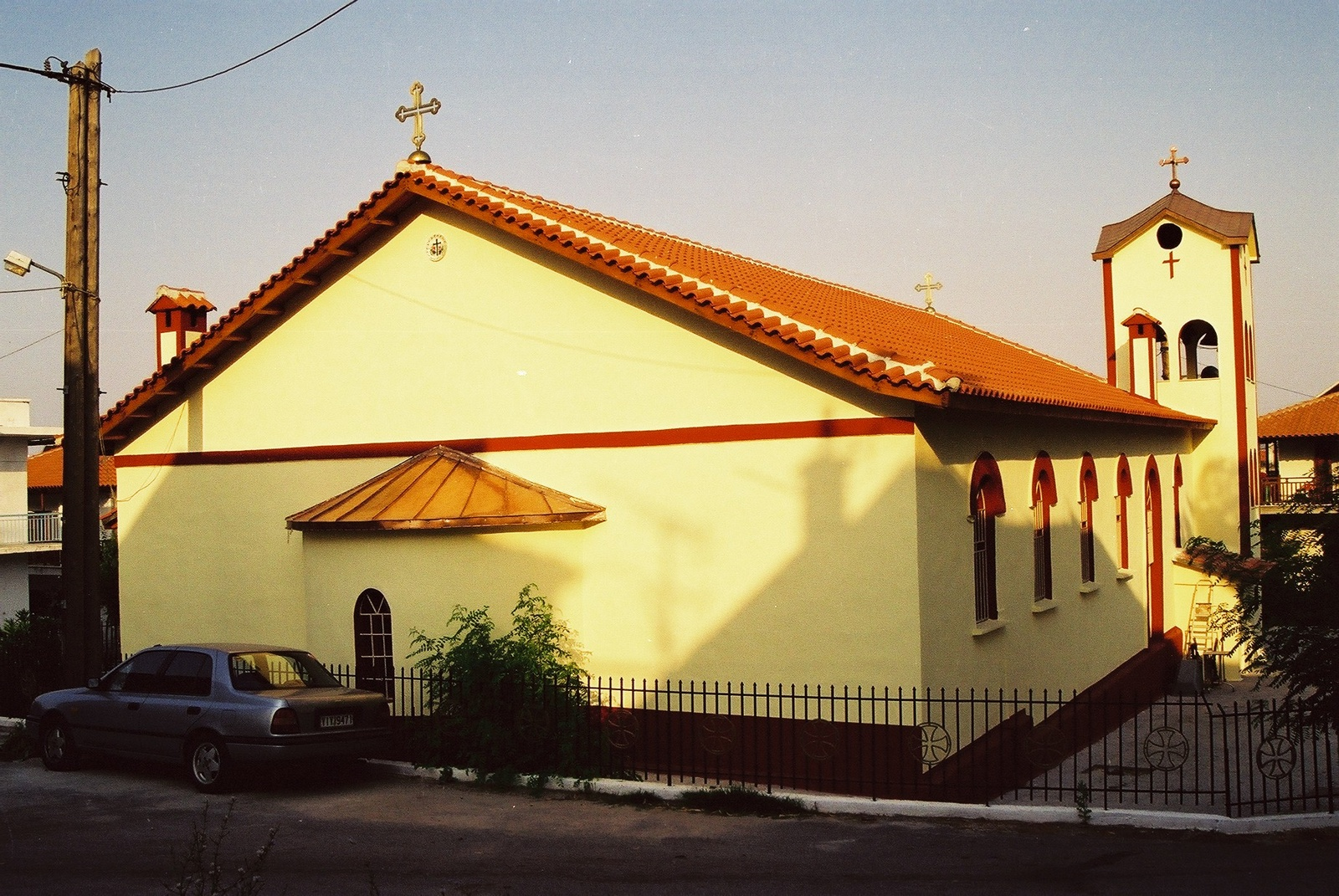 Orthodox church in Ouranopolis, 2000