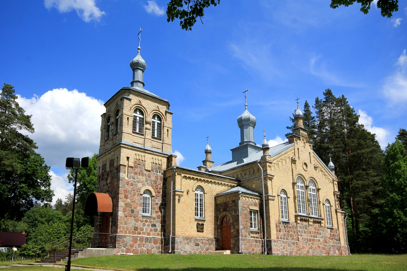 The Orthodox church in Królowy Most