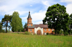 The Orthodox church in Mostowlany