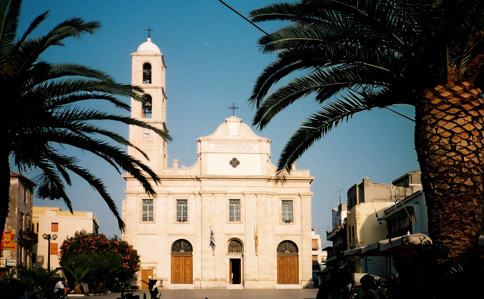 The Orthodox church in Chania, Crete, 1994