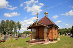 jarek  The Orthodox cementary chapel in Telatycze  2017-08-01 08:35:48