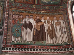 Mitrut Popoiu  Emperor Justinian and his court  2017-08-03 22:51:45