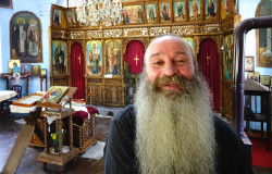 jarek1  Fr. Elijah of Novoselski Monastery in Aprilci in his church  2017-08-28 22:22:16