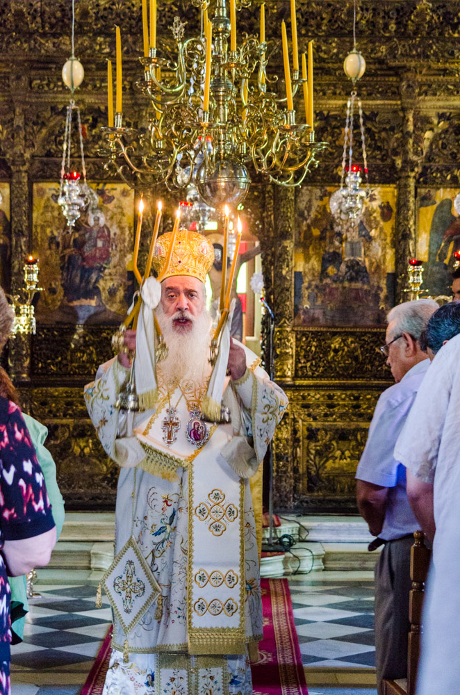 My first Liturgy in Greece