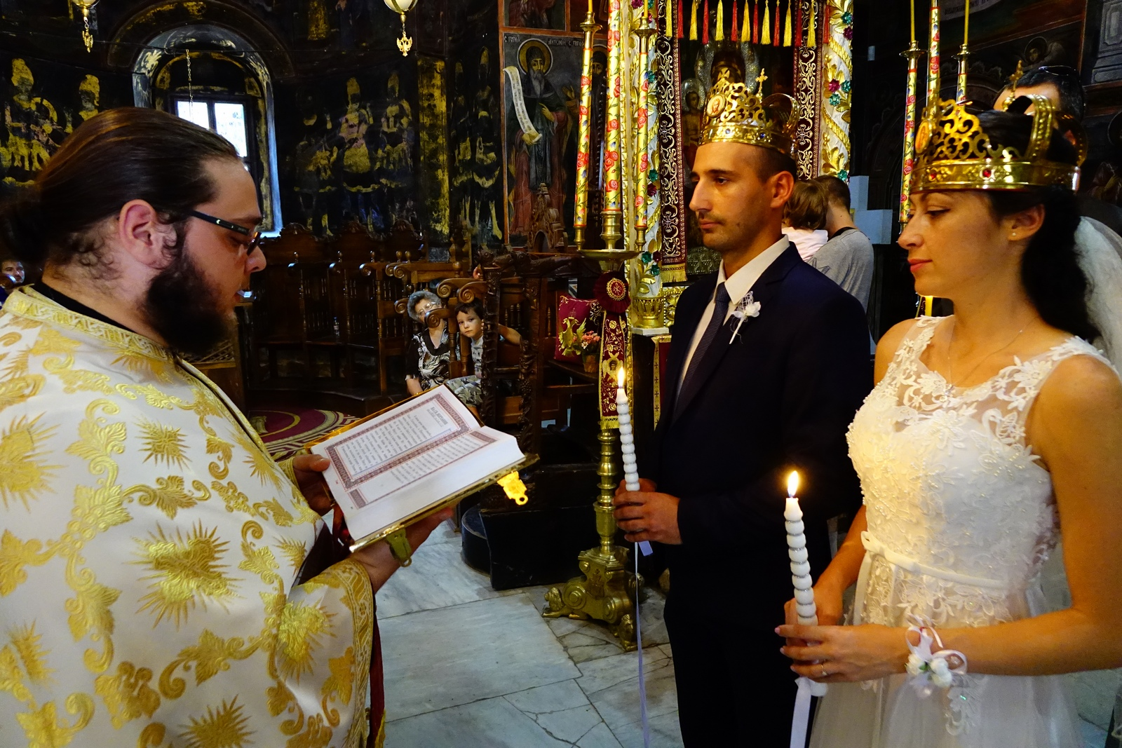The marriage in Trojanski Monaster