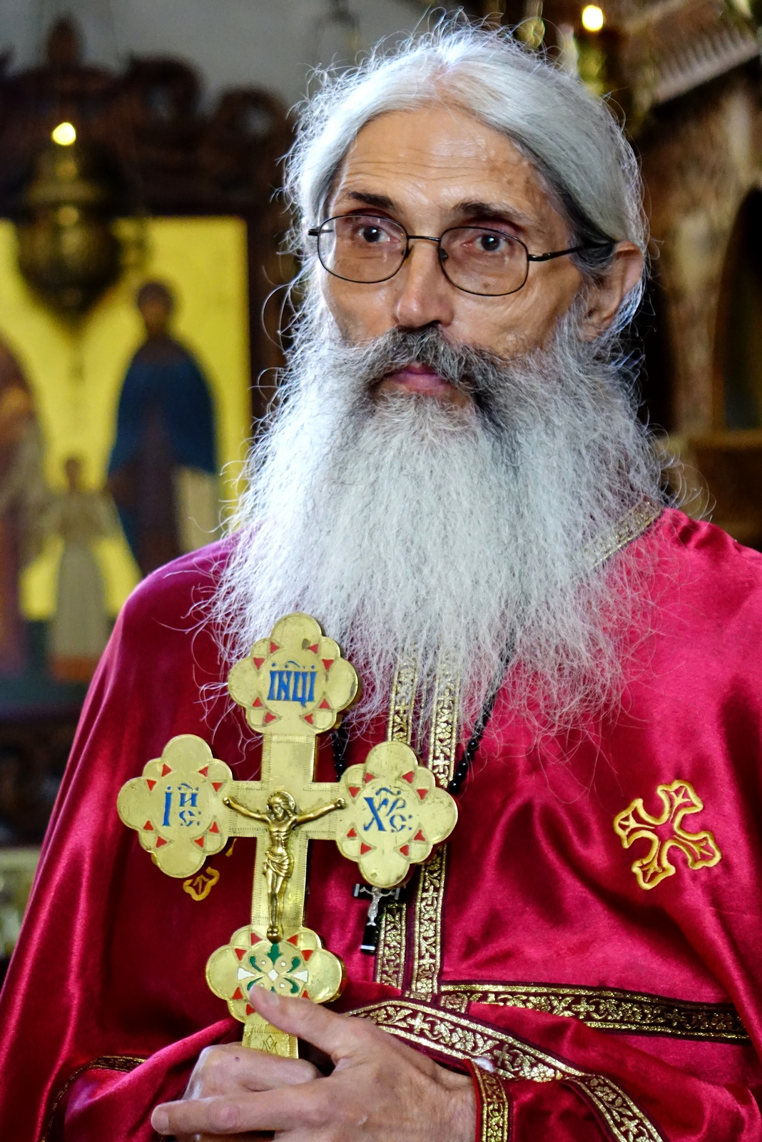 The rector of St. John the Baptist Orthodox church
