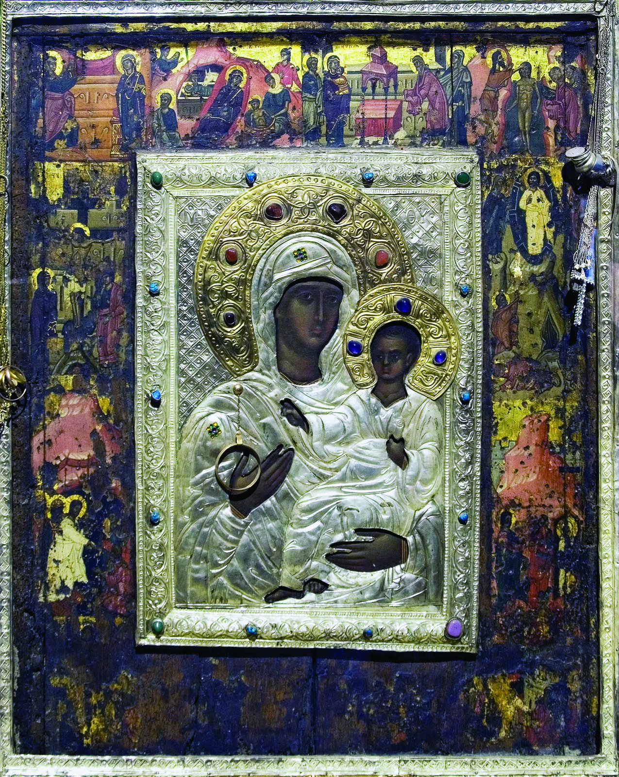 The Icon of the Mother of God from Nesebyr