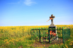 jarek  Orthodox memory cross close to Augustowo village  2017-10-11 21:00:29