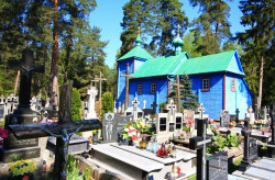 jarek  St. Panteleimon Orthodox chapel in Borowiska  2017-10-11 21:01:26