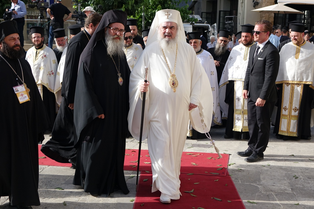 The Orthodox hierarchs in Heraklion
