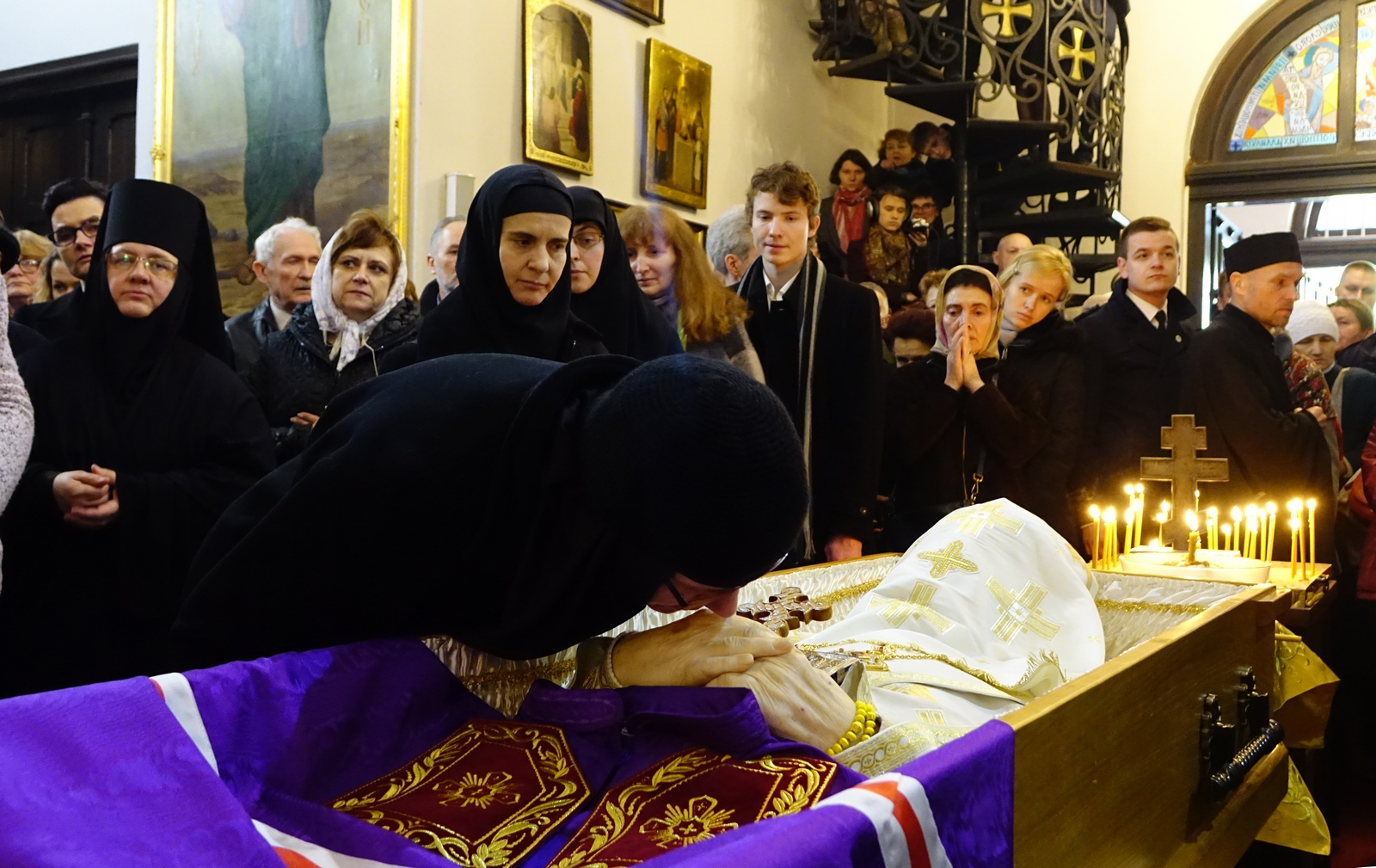 The funeral of archbishop Jeremiah, 2017